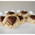 Sweet Saturday: Valentine's Day Cookies (Peanut Butter Blossom)