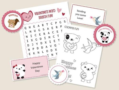 Printable Valentine's Day Kit