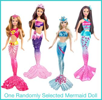 Barbie Mermaid Prize Pack