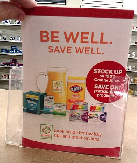 Be Well. Save Well. With Florida Orange Juice and Safeway!