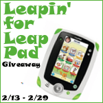 Leapin' for Leap Pad Giveaway