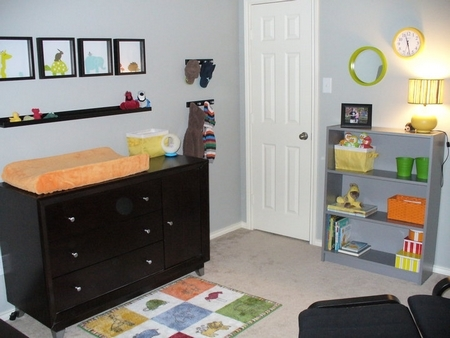 The House Files: A Baby Nursery in Primary Colors (DIY)