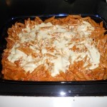 In the Kitchen With Philadelphia Cooking Creme: Baked Penne Recipe