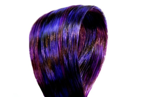 Picasso Hair Feathers  - Twilight