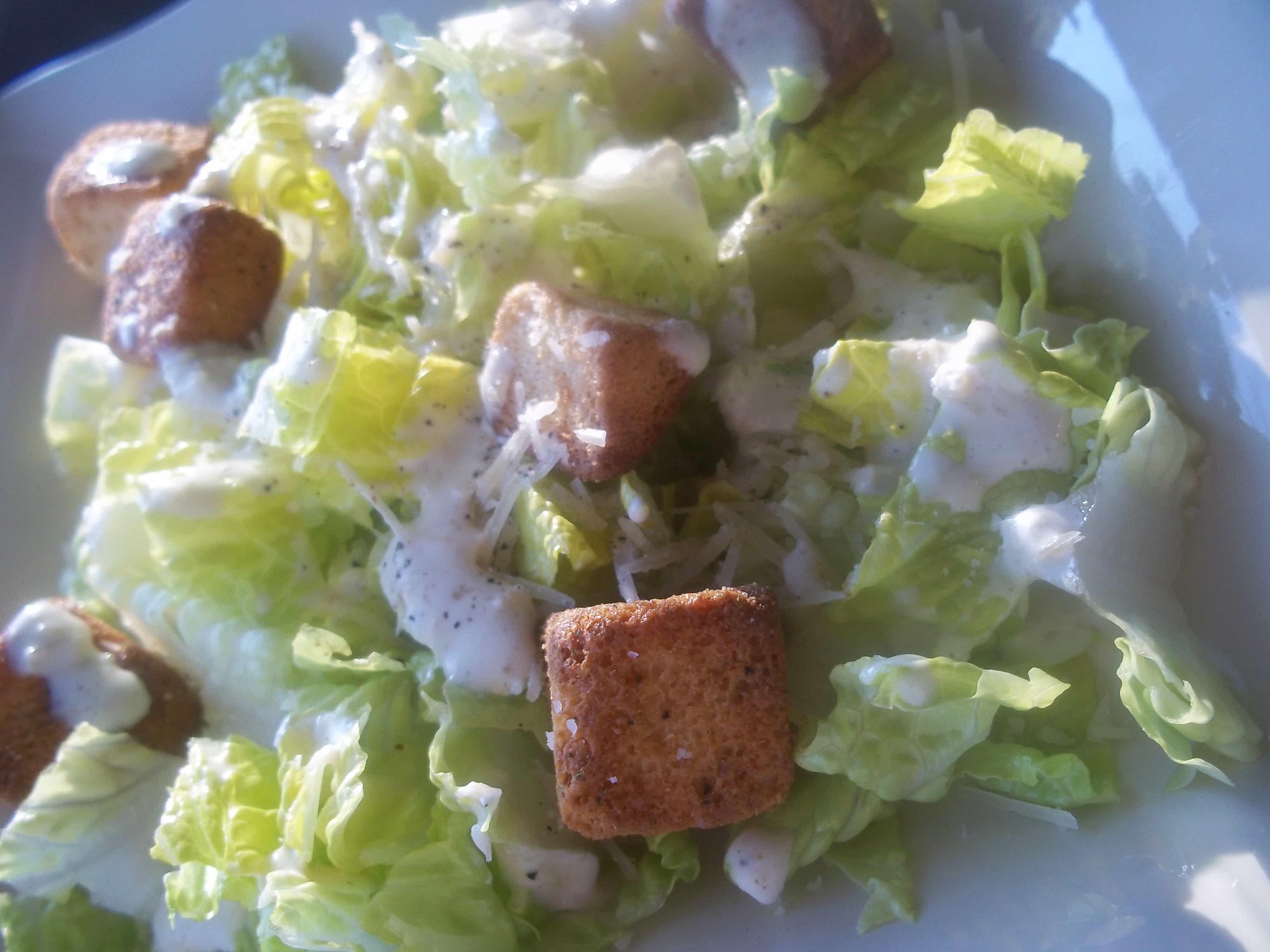 Easy Caesar Salad Recipe (Tasty Tuesday)