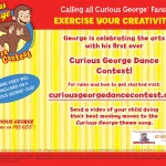 Shake Your Groove Thing with the Curious George Dance Contest!