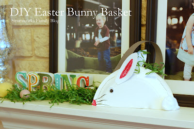 DIY Easter Bunny Basket Crafts