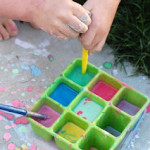 Summer Activities: DIY Sidewalk Paint