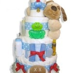 Celebrating a New Addition in a Practical Way with Diaper Cakewalk