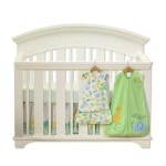 Sleep Tight in a Safe Crib with HALO Safe Sleep Crib Set