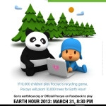 Celebrate Earth Hour With POCOYO!