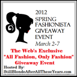Spring Fashionista Giveaway featurning Baby Fashionista Prize Pack ($275 value, US)