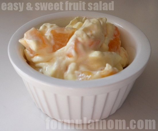 Easy & Sweet Fruit Salad with COOL WHIP