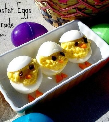 Deviled Easter Eggs on Parade #easter