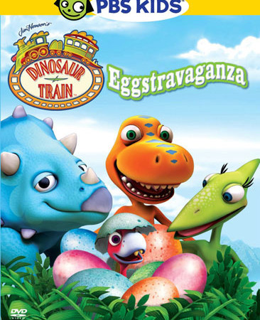 Dinosaur Train Eggstravaganza DVD for your Easter basket