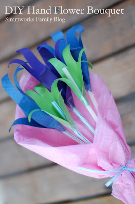 Mother's Day Flower Bouquet Craft