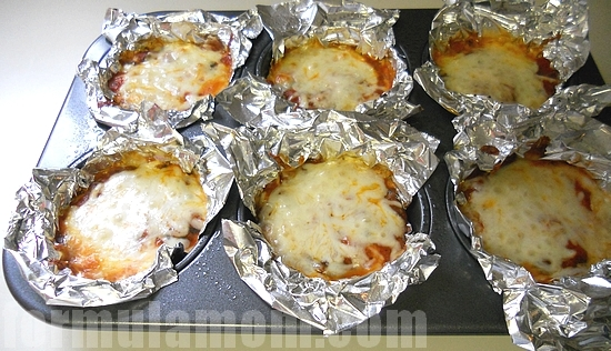 The Muffin Tin Cookbook Ravioli Lasagna