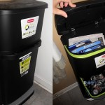 My Recycling Gets Organized with Rubbermaid 2-in-1 Recycler