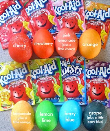 Kool-Aid Easter Eggs