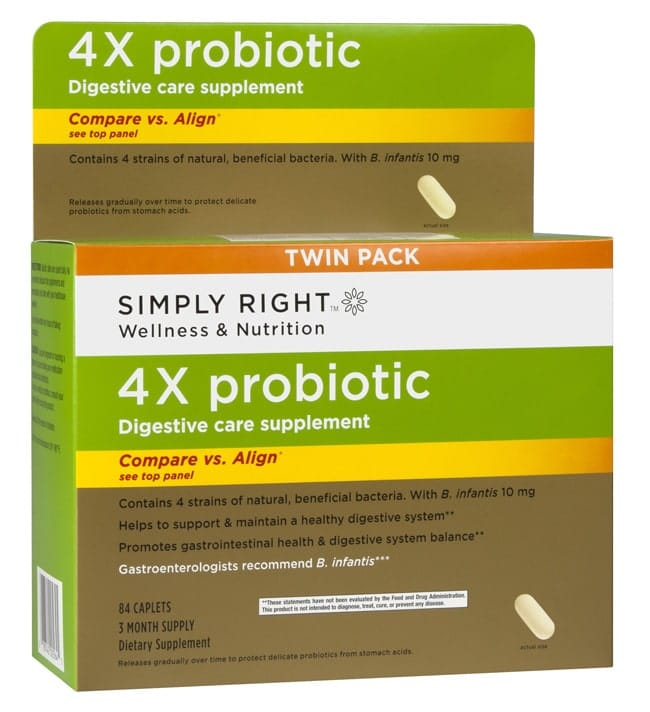Simply Right 4X Probiotic