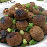 Apple Glazed Meatballs Recipe (Tasty Tuesday)