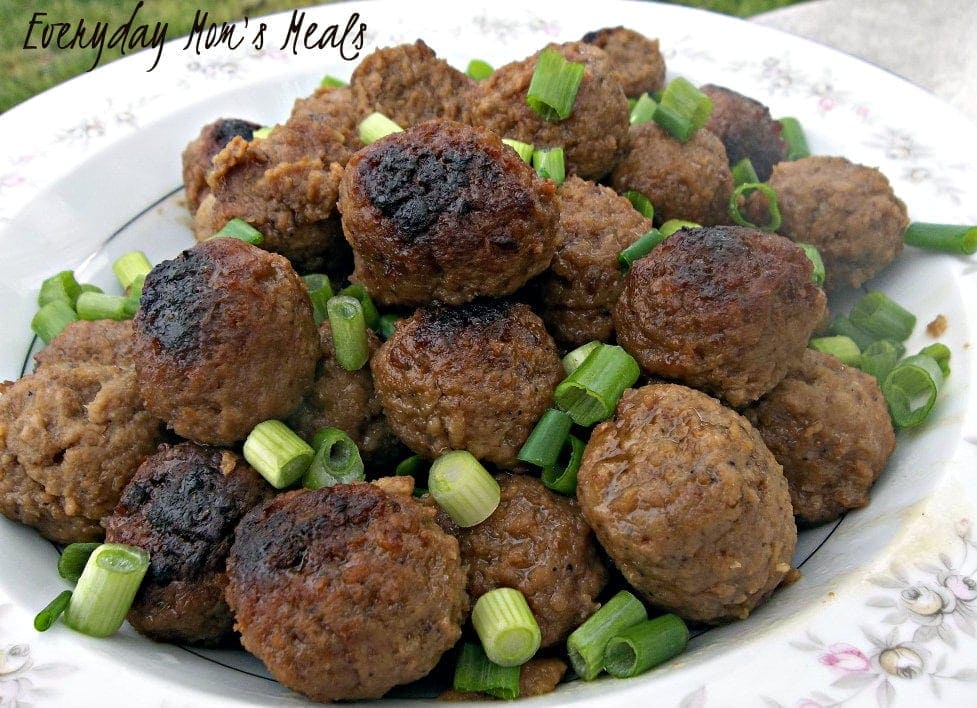 Apple Glazed Meatballs Recipe