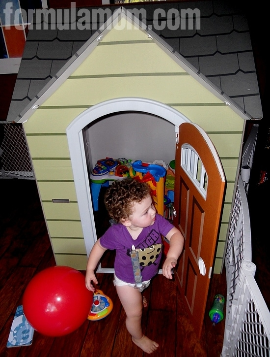 Having fun with Beezer Playhouses!