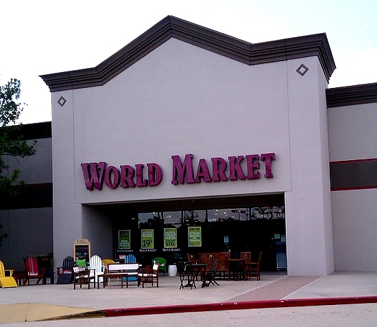 Shopping for Americana at Cost Plus World Market