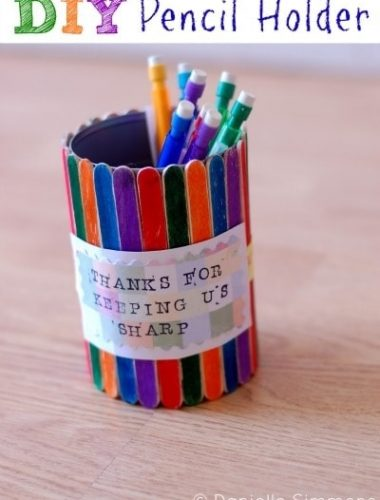 DIY Pencil Holder Craft