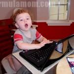 Wordless Wednesday: Future Blogger