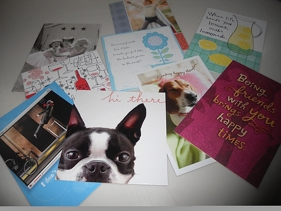 My Mailbox is Full of Love with Card Showers from Hallmark!