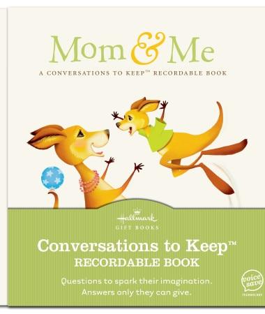 Hallmark Mom & Me Recordable Book