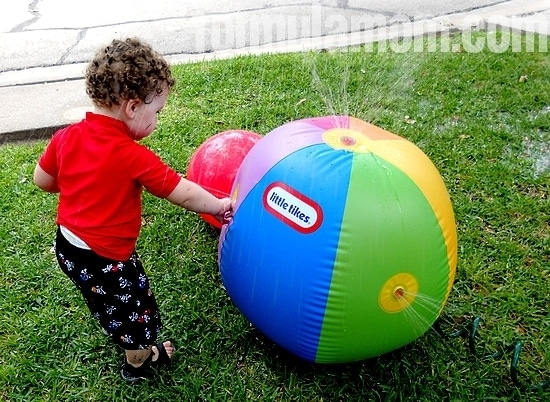 Little Tikes Beach Ball Sprinkler from Imperial Toy
