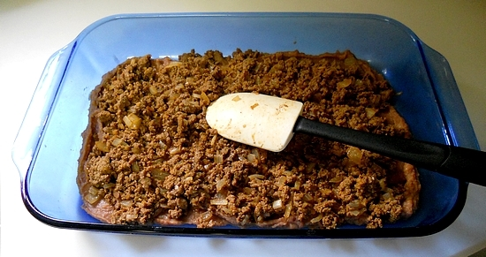 Taco Dip with Jennie-O ground turkey