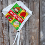 DIY Kids' Recycled Kite Craft