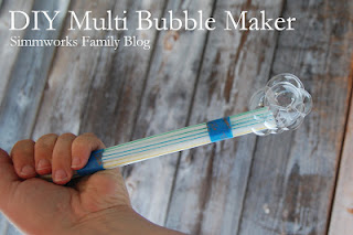 DIY Multi Bubble Maker Craft