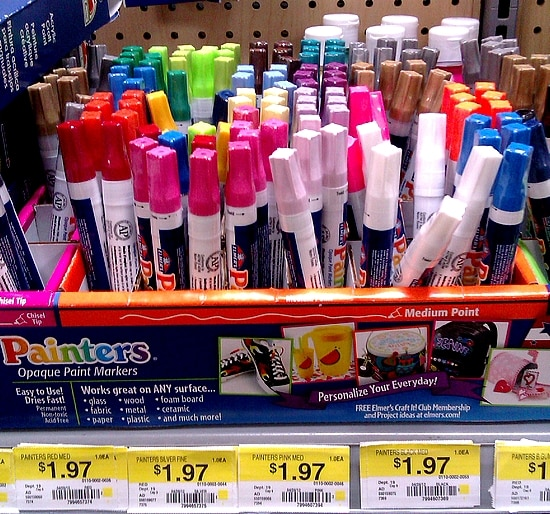 Painters Paint Markers frm Elmers