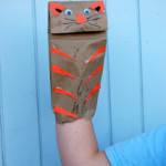 DIY Paper Bag Puppets Craft