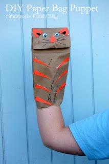DIY Paper Bag Puppet Craft