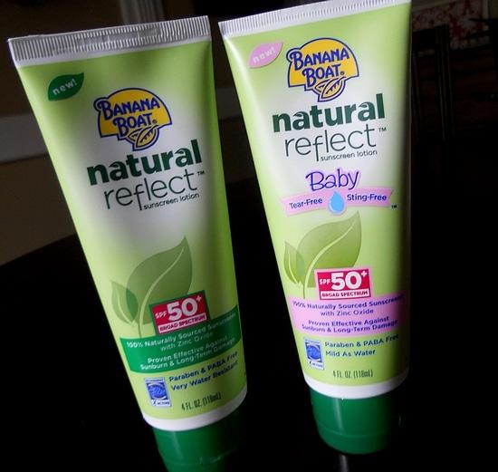 Banana Boat® Sunscreen Natural Reflect Lotion