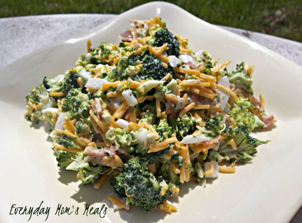 Barbecue Recipes Broccoli Salad