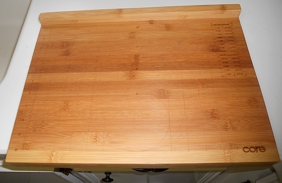 Core Bamboo Baker's Measuring Board