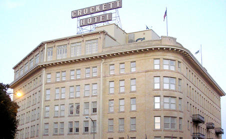 Crockett Hotel - Alamo, San Antonio, Texas - photo courtesy of crocketthotel.com