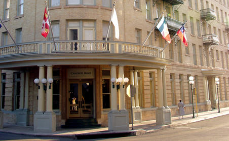 Crockett Hotel - Alamo, San Antonio, Texas - photo courtesy of crocketthotel.com