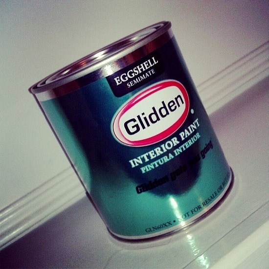 Glidden Smoky Mauve Paint in Eggshell finish