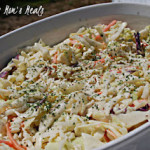 Honey Mustard Coleslaw Recipe (Tasty Tuesday)