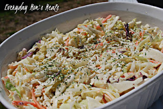 Honey Mustard Coleslaw Recipe
