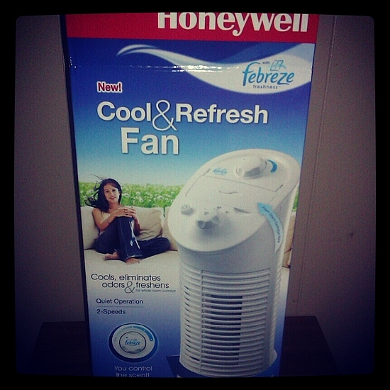 Honeywell with Febreze Freshness™ Cool & Refresh Fan