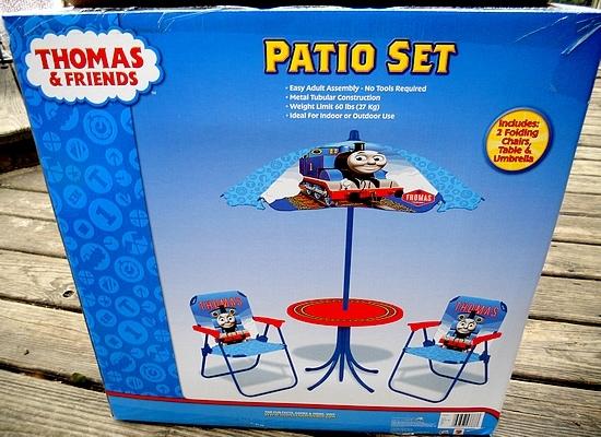 Jakks Pacific Thomas the Train Patio Set