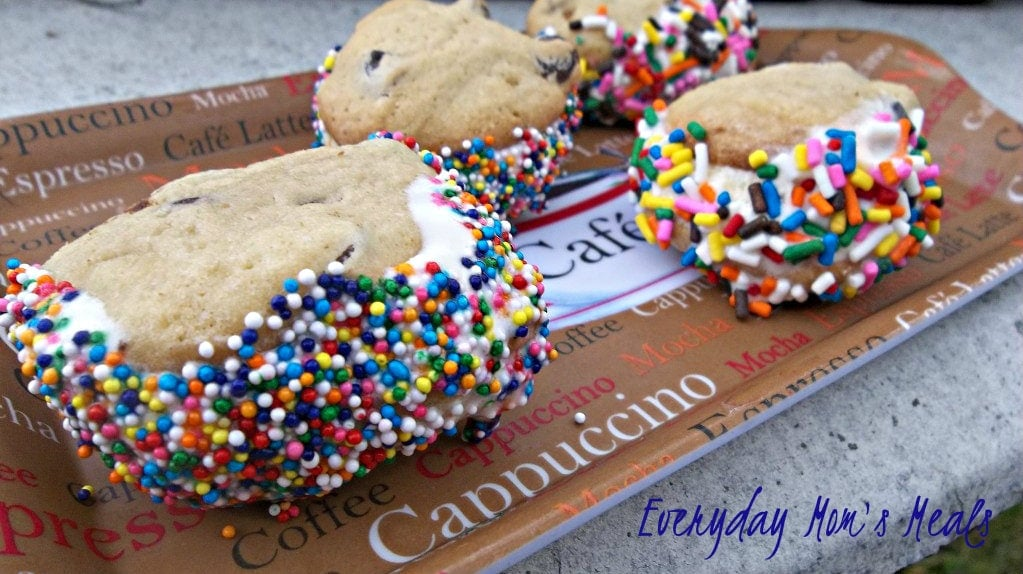 Mini Ice Cream Sandwiches - Tasty Tuesday Recipe